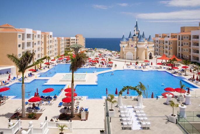 Bahía Príncipe Fantasía Tenerife hotel bodas Santa Cruz de Tenerife