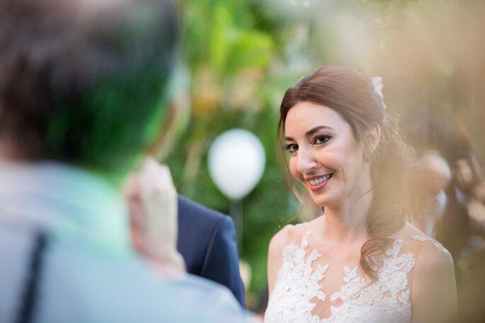 Noiva na cerimônia