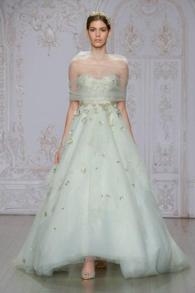 12 vestidos de novia que estarán de moda en 2015 - Monique Lhuillier