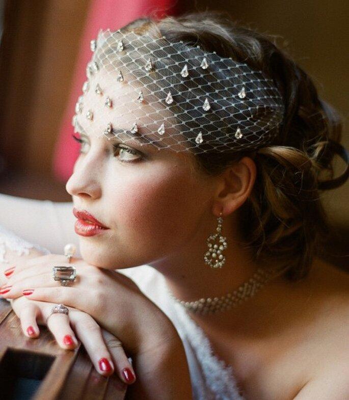 """Maquillage de mariée version """"Gatsby le Magnifique"""" - Photo Serephine"""