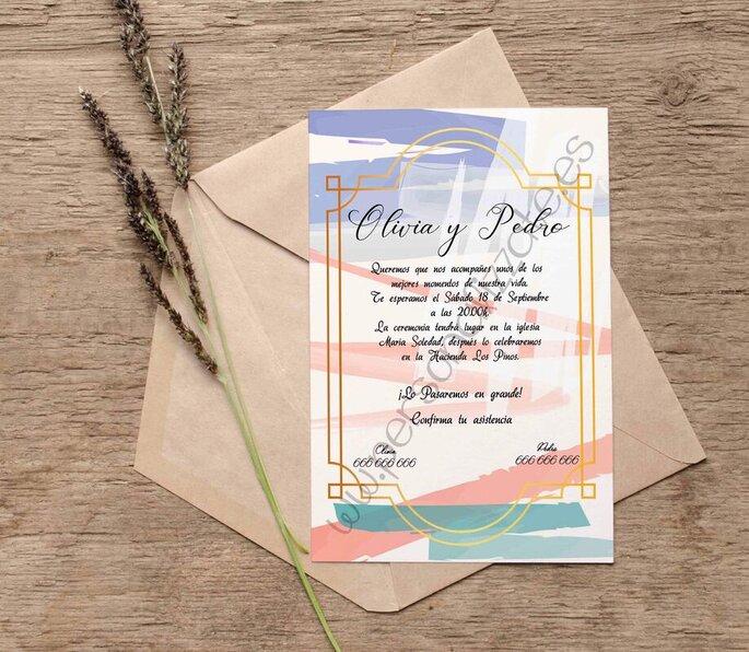 Personalizzate invitaciones boda Sevilla