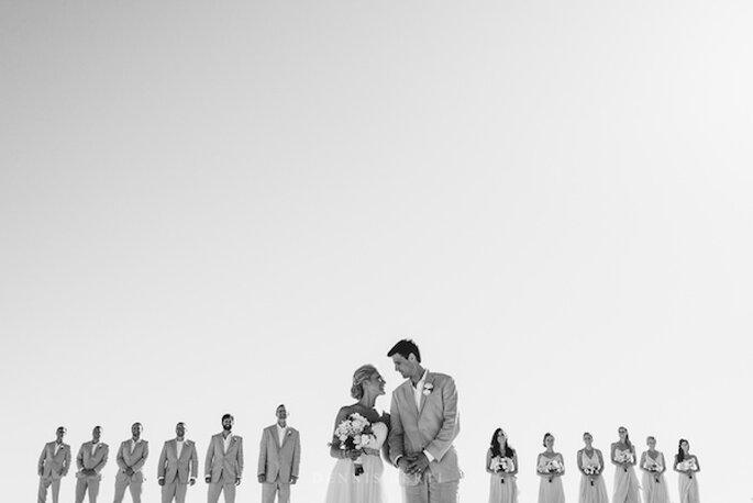 Real Wedding: La boda perfecta en Playa Pedregal, Los Cabos - Foto Dennis Berti