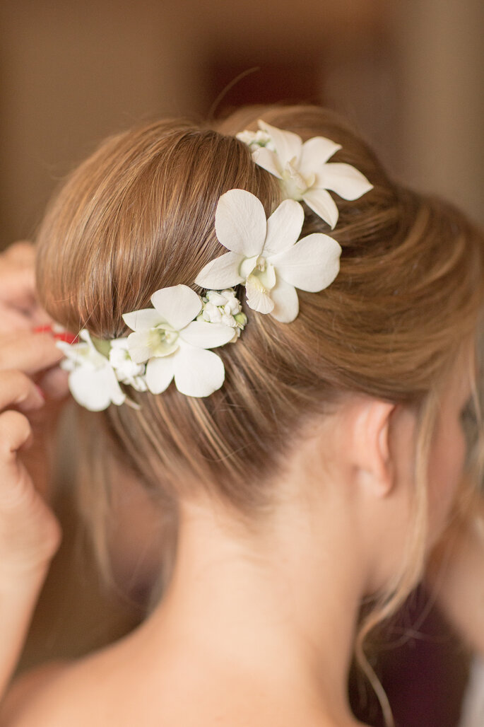 Acessório de cabelo de noiva