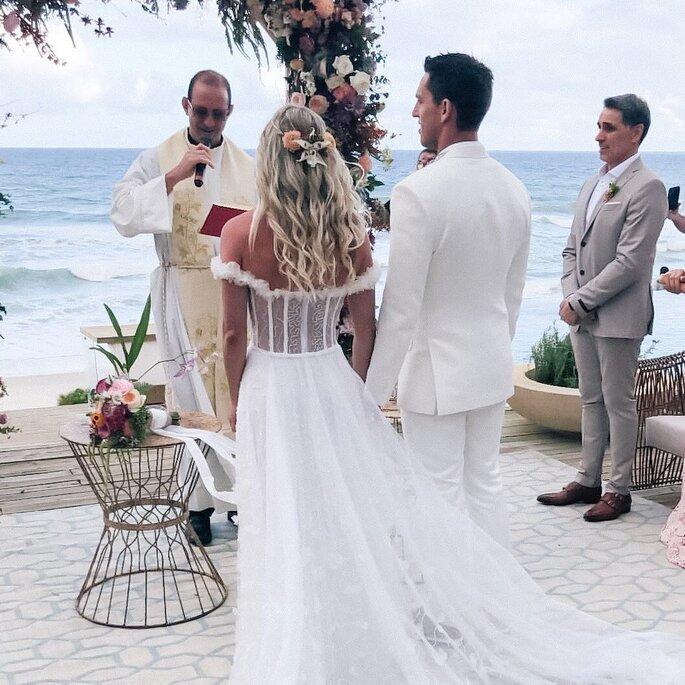 Karina Bacchi se casa com Amaury Nunes: confira todos os detalhes
