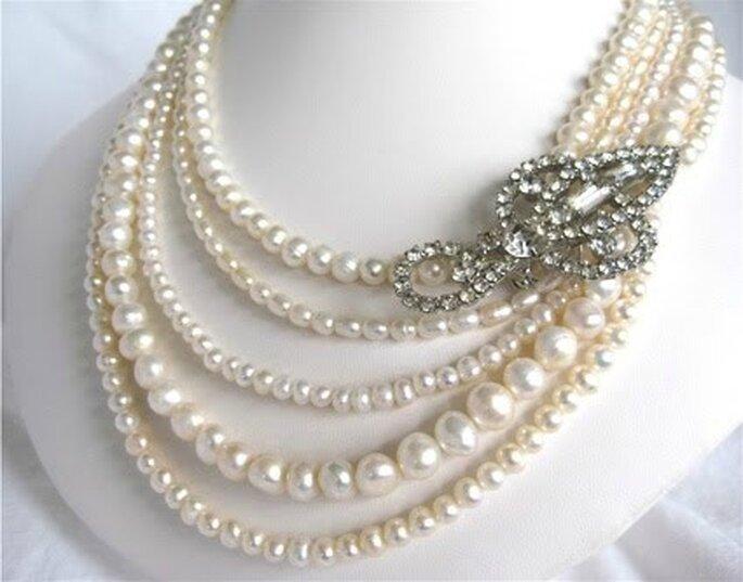 Collana di perle Vintage in vendita su www.etsy.com