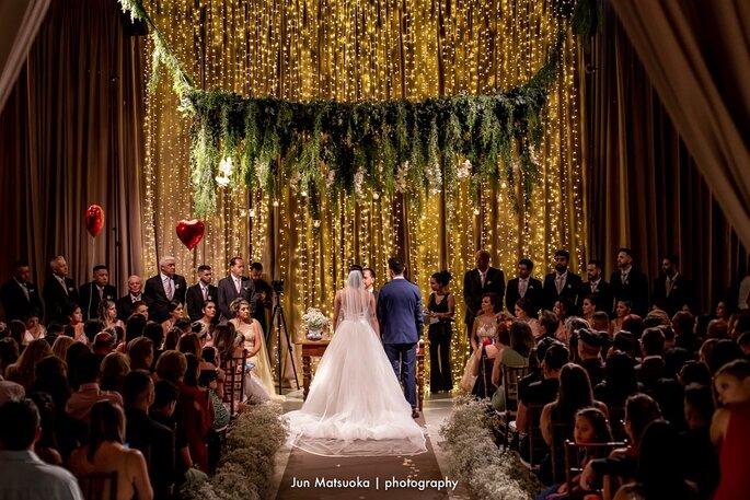 decoração aérea casamento