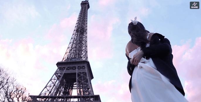 ensaio noivos Paris