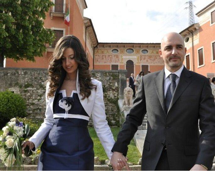 Matrimonio In Comune : Roberta un doppio matrimonio per una sposa con super