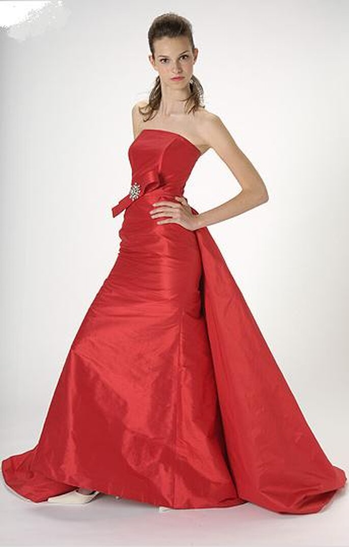 Vestiti da sposa rossi 2010
