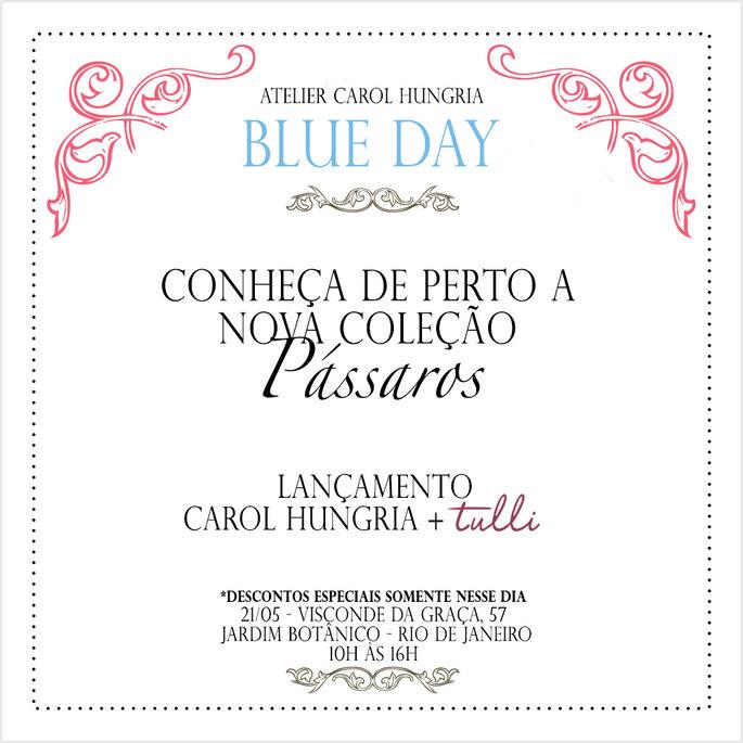 Convite Blue Day