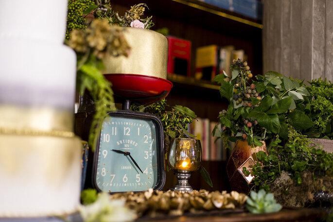Peças vintage para decoração de casamento