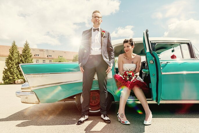 "Styled Shoot ""Rockabilly"""