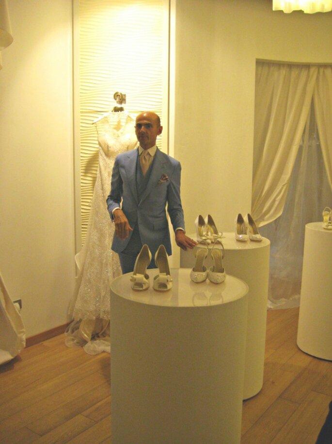 Enzo Miccio e la sua Collezione 2015 Bridal Luxury Shoes
