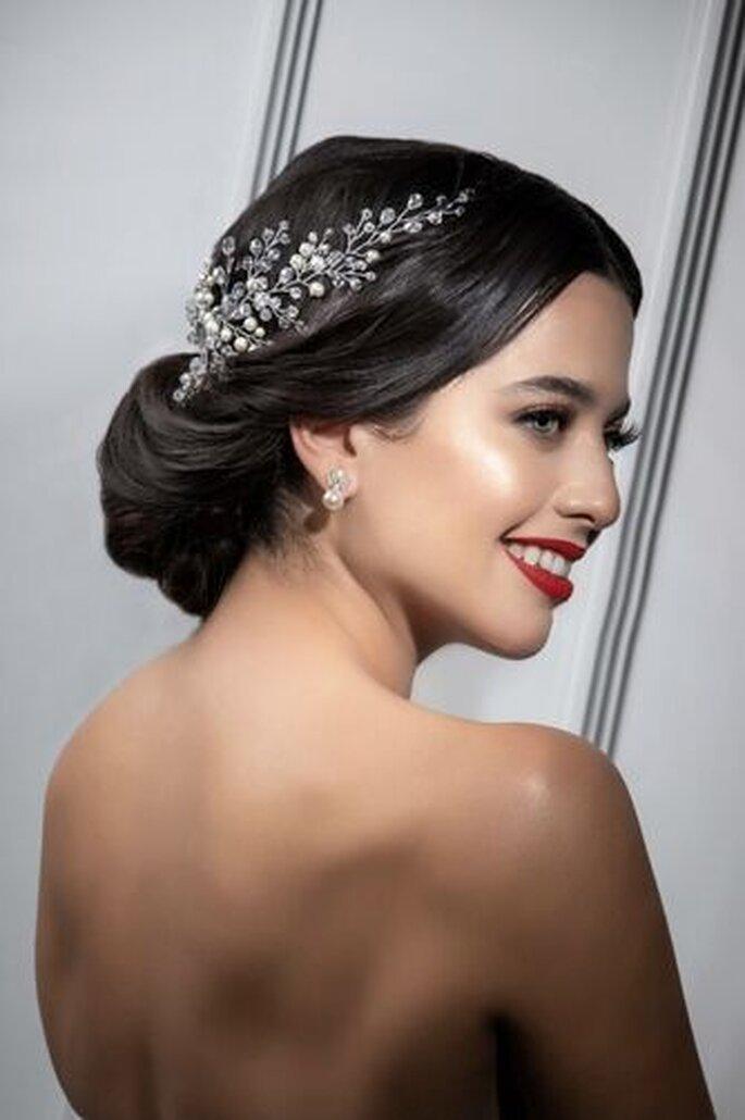 Carolina Román Bridal complementos de novia Mexicali