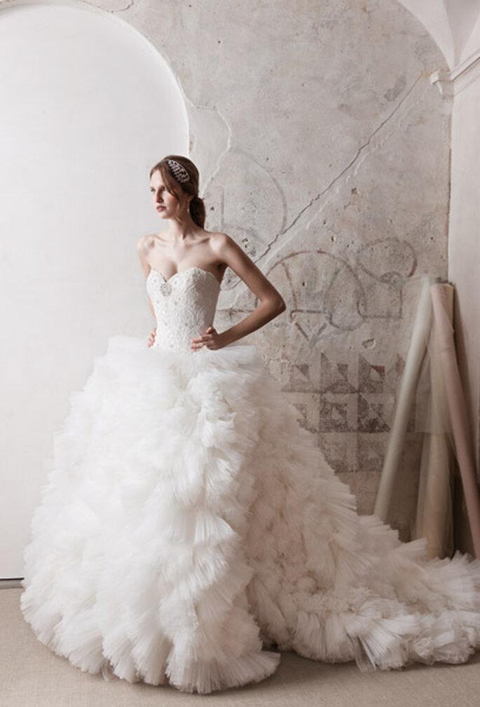 Extravagant und pompös sind Kleider mit unvergesslichen Designs – Foto: Alessandra R