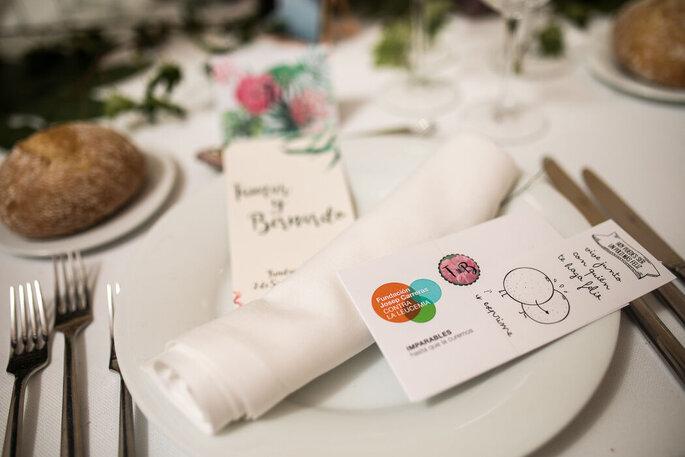 Fundación Josep Carreras contra la Leucemia detalles solidarios boda Madrid