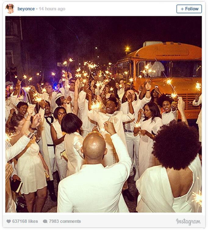 La increíble boda de Solange Knowles y Alan Ferguso - Foto Beyoncé Instagram
