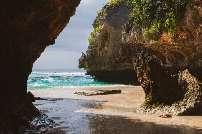 Suluban beach, Bali.