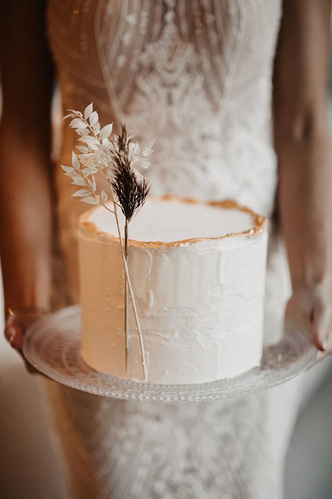 Hochzeitstorte.
