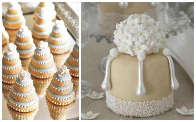 Dulces finos y pasteles. Fotos de White Sugar.