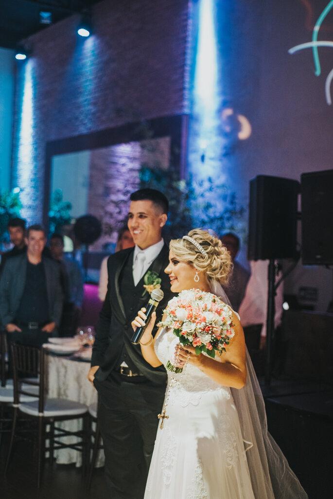 Chegada noivos