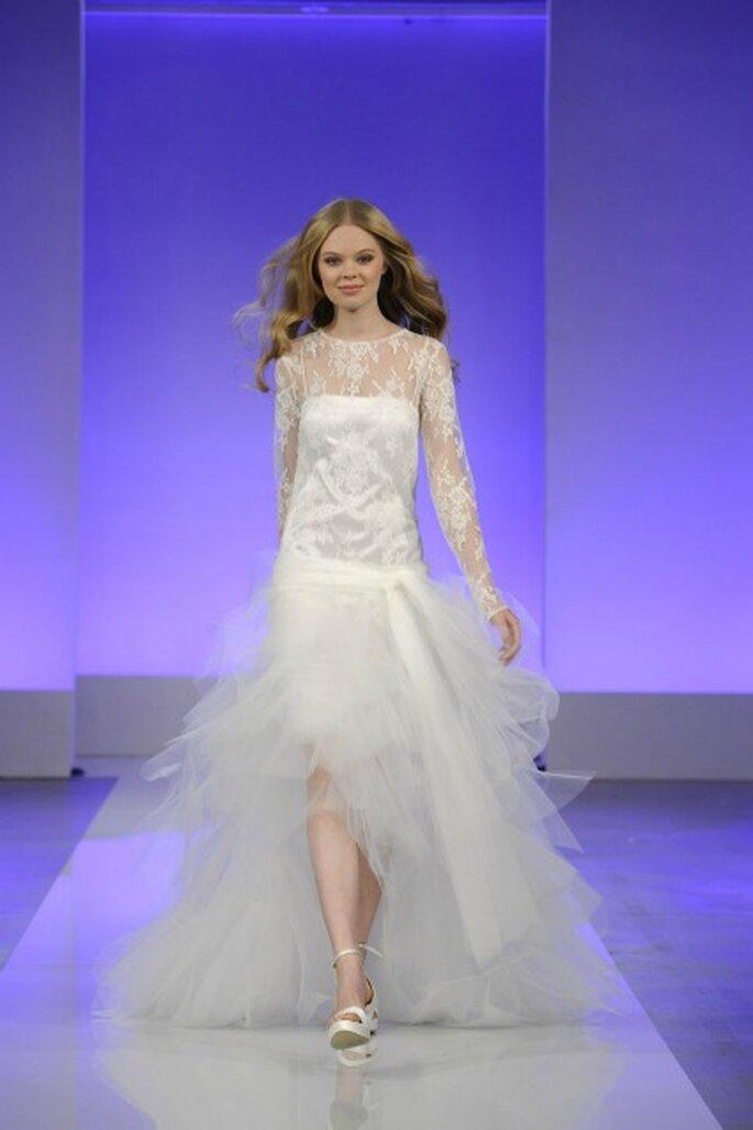 En quel tissu sera votre robe de mariée 2013 ? - Photo : Cymbeline