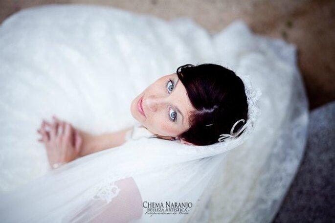 Beauty retouching wedding day - Photo: Chema Naranjo