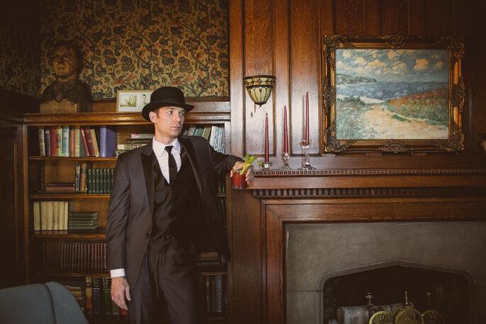 Wes Anderson Wedding, image: Jennifer Van Elk