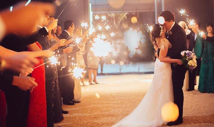 Amor dos noivos, mas também do assessor é um bom indicativo