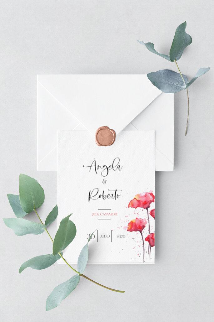 invitacion boda zankyou paper