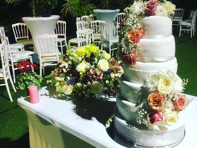 Pièce- montée pour un mariage