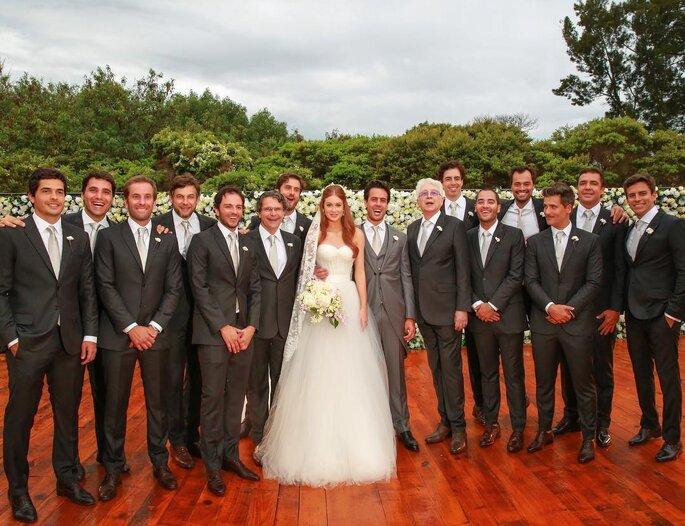 Traje padrinhos casamento Marina Ruy Barbosa