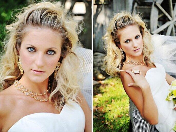 8 claves para lucir más joven con tu maquillaje de novia - Foto Pure Sugar Studios