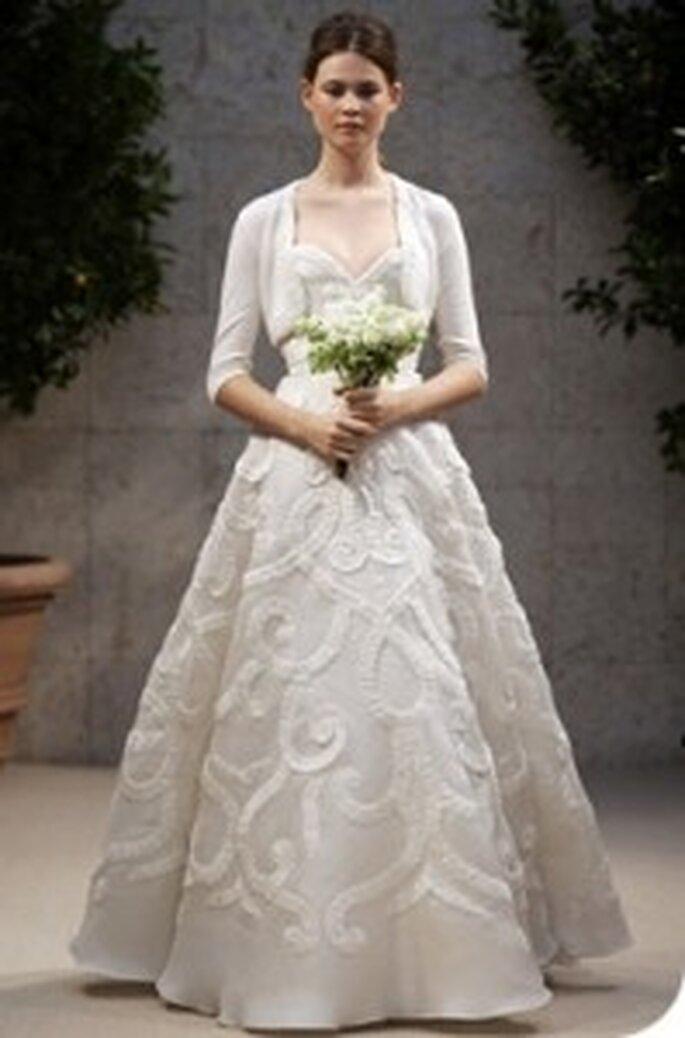 Vestido de Noiva para o Inverno - Oscar de  La Renta