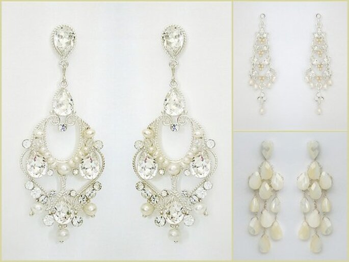 Chandellier Earrings collage