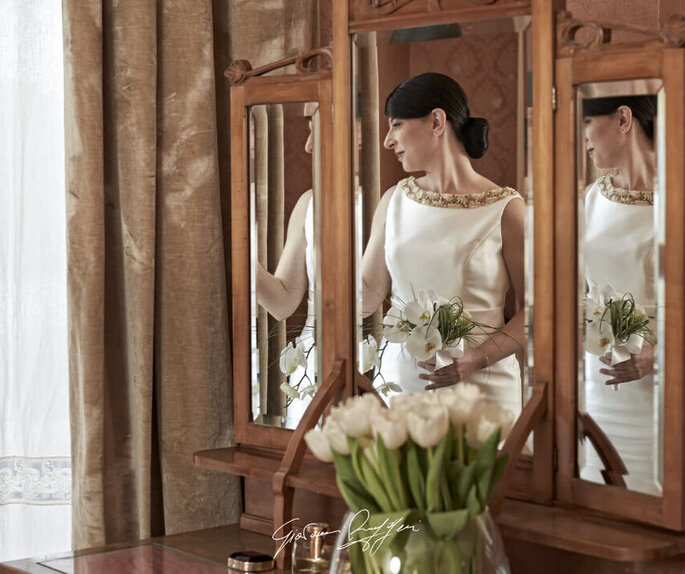 Giovanni Ruggeri Fotografo - scatto sposa allo specchio
