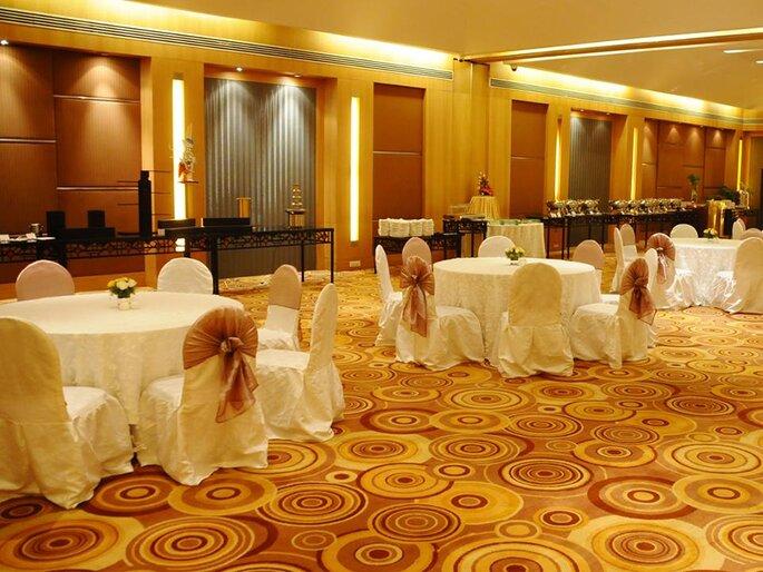 Photo: Lalit Ashok Hotel.
