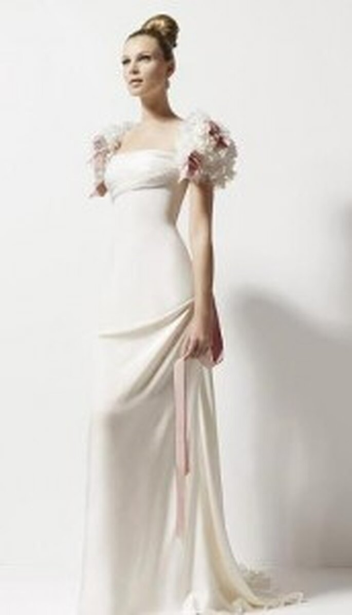 Las telas ligeras segro serán fabulosas si tu boda es en verano
