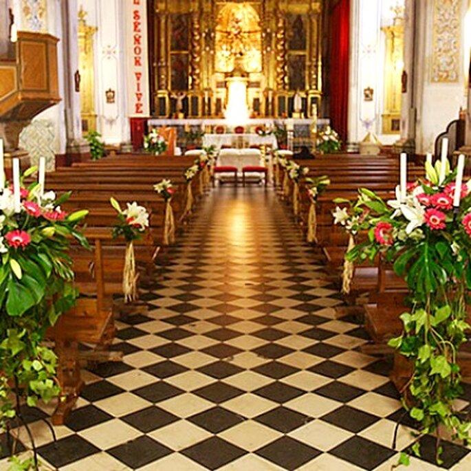 Altar ubicación invitados