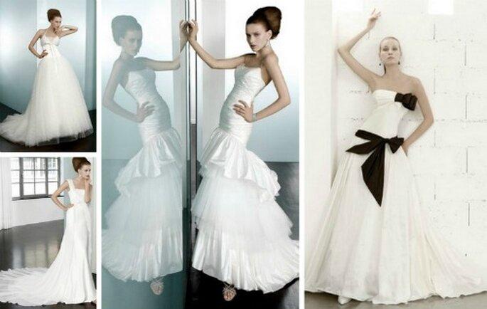La qualità del Made in Italy traspare nella cura dei dettagli di questi abiti firmati Elisabetta Polignano