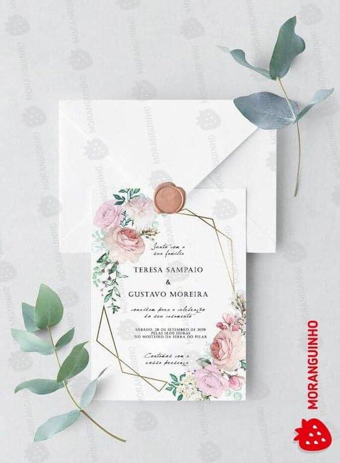 convites Moranguinho
