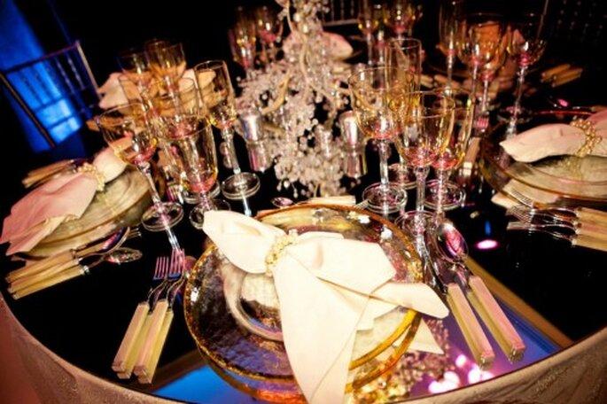 Centros de mesa y decoracion inspirados en Britney Spears - Foto: Floramor Studios Facebook