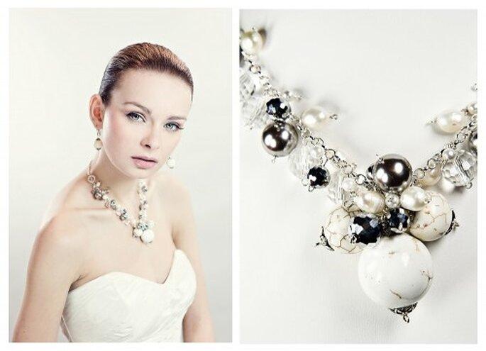 Der richtige Schmuck verleiht der Braut mehr Glamour – Foto: fulara