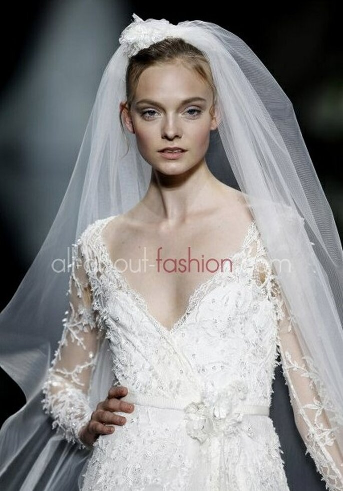 Romantisch in Spitze – Foto: Elie Saab for pronovias