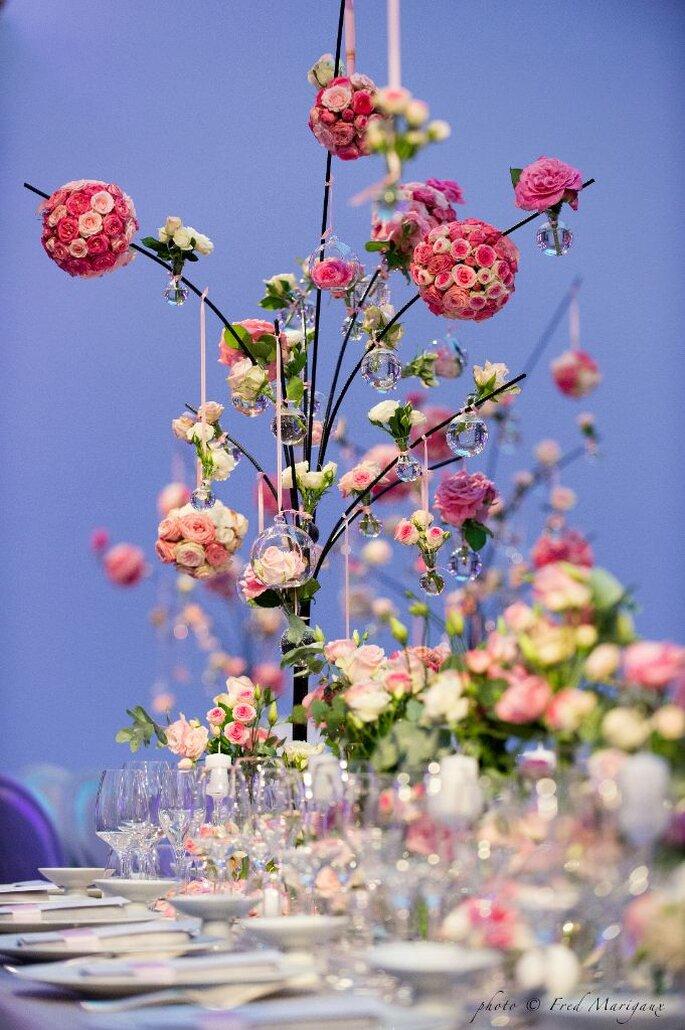 Composition florale pour un mariage
