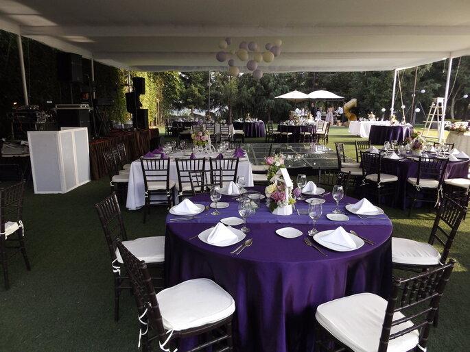 Jardín y Salón Santa Esmeralda
