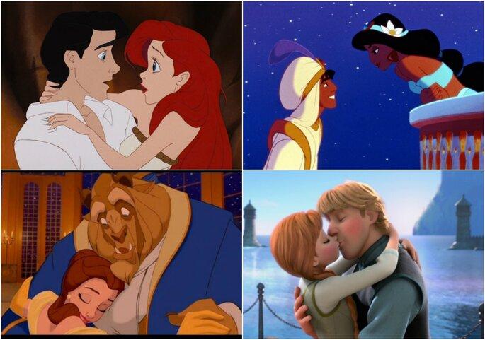 Parejas Disney
