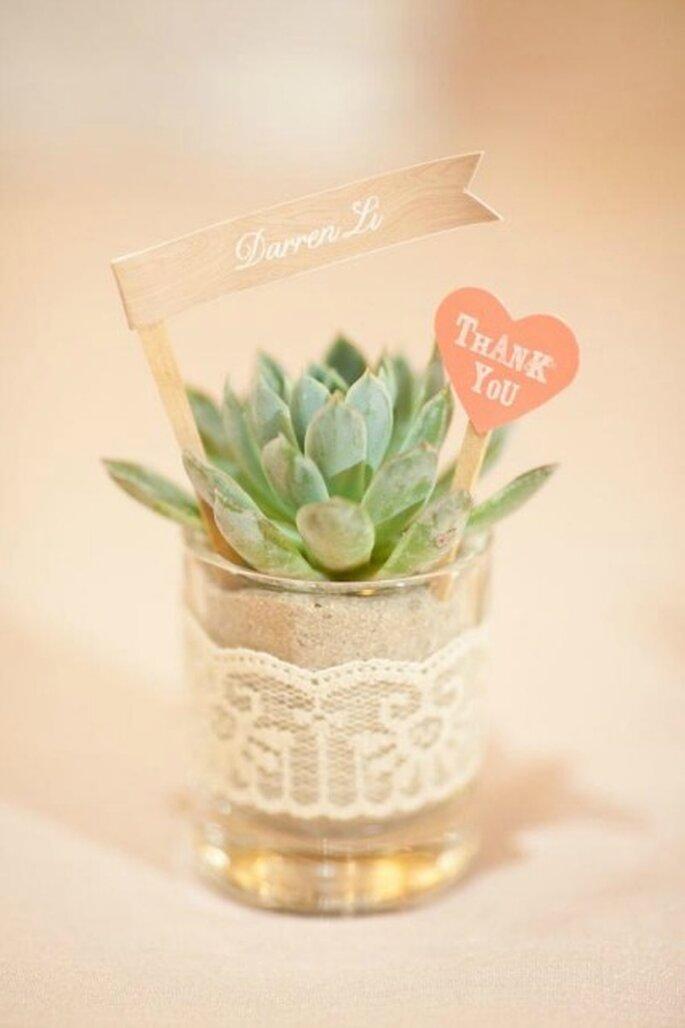 Rien de tel que d'offrir des cadeaux personnalisés et originaux à vos invités - Crédit Photos : Ruffled Blog
