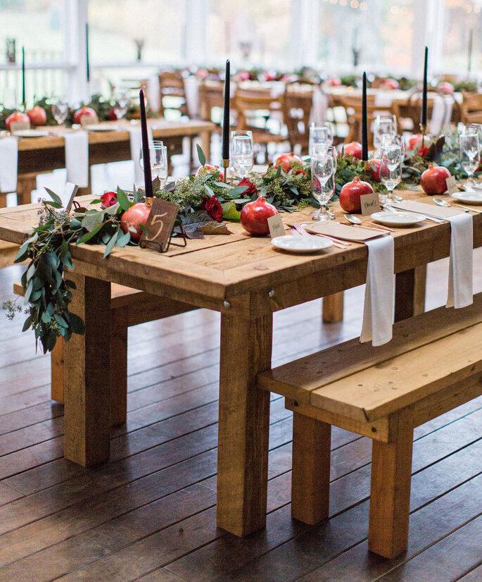 Tischkarten hochzeit aus holz