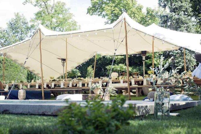 Cover Events - Location de tentes mariage - Alpes-Maritimes